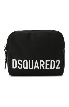 Женская поясная сумка DSQUARED2 черного цвета, арт. BBW0026 11702365 | Фото 1