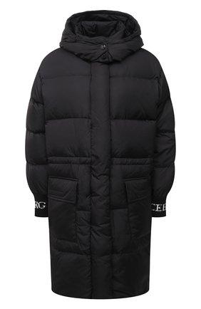 Женский пуховая куртка ICEBERG черного цвета, арт. 20I I2P0/J031/5050 | Фото 1