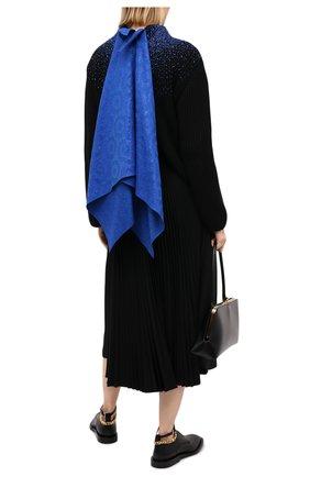 Женский шерстяной свитер LOEWE черного цвета, арт. S540Y14K03 | Фото 2