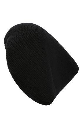 Женская кашемировая шапка DOLCE & GABBANA черного цвета, арт. FXC06T/JAW6J | Фото 2
