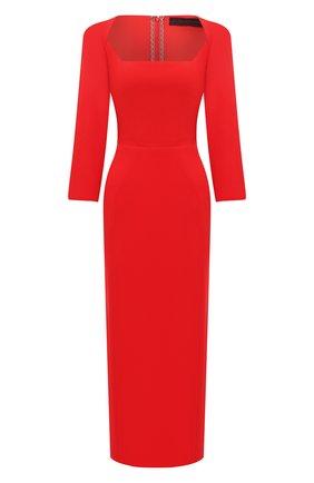 Женское шерстяное платье ULYANA SERGEENKO красного цвета, арт. ABM007FW20P (1458т20) | Фото 1