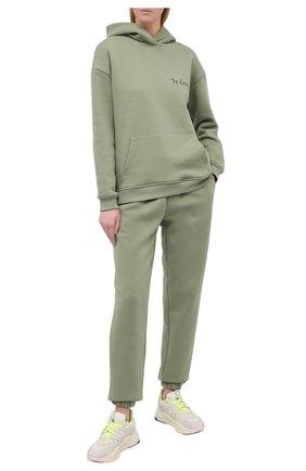 Женский хлопковый костюм SEVEN LAB зеленого цвета, арт. HPW20-IL pistachio   Фото 1