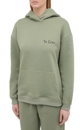 Женский хлопковый костюм SEVEN LAB зеленого цвета, арт. HPW20-IL pistachio   Фото 2