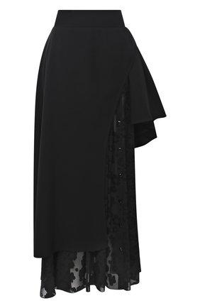Женская юбка ULYANA SERGEENKO черного цвета, арт. GNM001FW20P (1476т20) | Фото 1