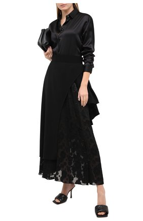 Женская юбка ULYANA SERGEENKO черного цвета, арт. GNM001FW20P (1476т20) | Фото 2