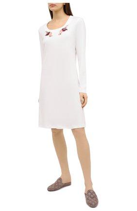 Женская сорочка EVA B.BITZER кремвого цвета, арт. 20382877 | Фото 2