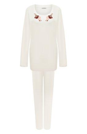 Женская пижама EVA B.BITZER белого цвета, арт. 20382871 | Фото 1