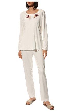 Женская пижама EVA B.BITZER белого цвета, арт. 20382871 | Фото 2
