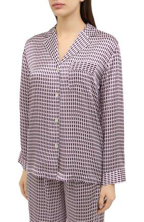 Женская пижама LUNA DI SETA бордового цвета, арт. VLST60689 | Фото 2
