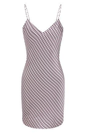 Женская сорочка LUNA DI SETA бордового цвета, арт. VLST60688   Фото 1