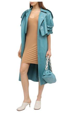 Женское платье JIL SANDER бежевого цвета, арт. JSCQ705045-WQ477108 | Фото 2