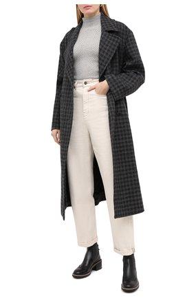 Женская топ из кашемира и вискозы RALPH LAUREN серого цвета, арт. 290817717   Фото 2