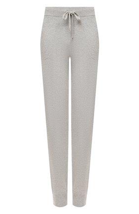 Женские кашемировые брюки RALPH LAUREN серого цвета, арт. 290740490 | Фото 1