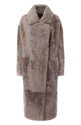Женская шуба из овчины WINDSOR светло-бежевого цвета, арт. 52 DL414 10010501 | Фото 1