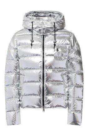 Женский пуховая куртка POLO RALPH LAUREN серебряного цвета, арт. 211812529 | Фото 1