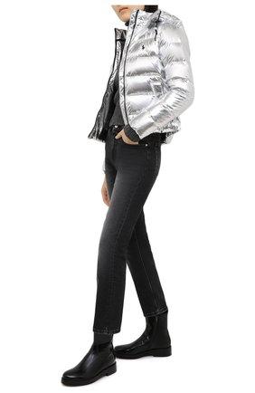 Женский пуховая куртка POLO RALPH LAUREN серебряного цвета, арт. 211812529 | Фото 2