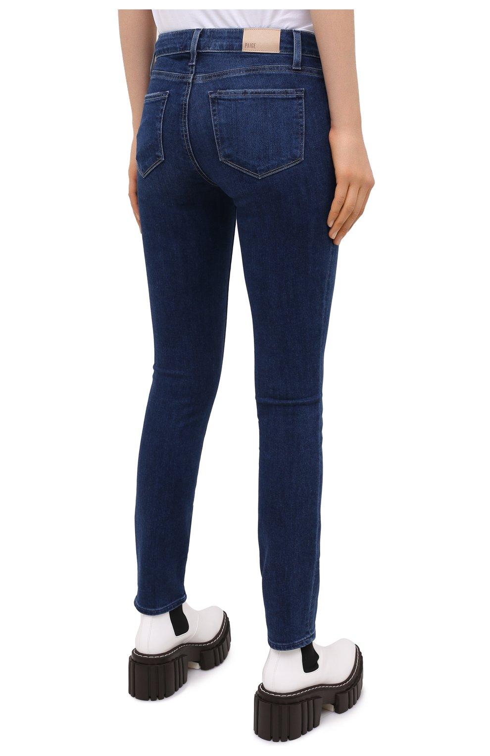 Женские джинсы PAIGE синего цвета, арт. 0248F46-2290   Фото 4
