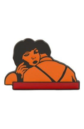Женская значок CHLOÉ разноцветного цвета, арт. CHC20WFP02BZL | Фото 1 (Материал: Металл)