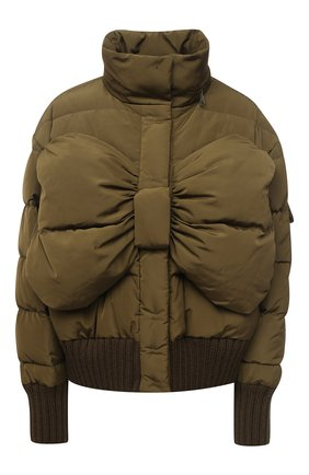 Женский пуховая куртка VIVETTA хаки цвета, арт. 20I V2M0/J021/5A42 | Фото 1