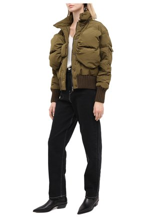 Женский пуховая куртка VIVETTA хаки цвета, арт. 20I V2M0/J021/5A42 | Фото 2