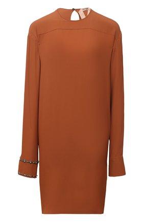 Женское платье N21 коричневого цвета, арт. 20I N2S0/H161/5111 | Фото 1