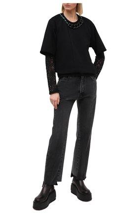 Женская свитшот N21 черного цвета, арт. 20I N2S0/E041/4100 | Фото 2