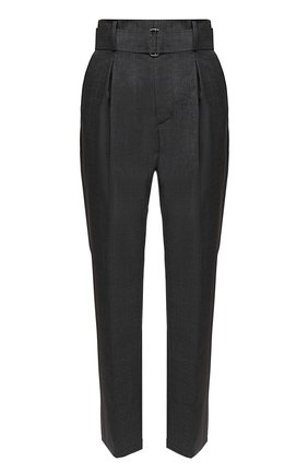 Женские шерстяные брюки N21 серого цвета, арт. 20I N2S0/B051/3133 | Фото 1