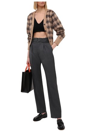 Женские шерстяные брюки N21 серого цвета, арт. 20I N2S0/B051/3133 | Фото 2