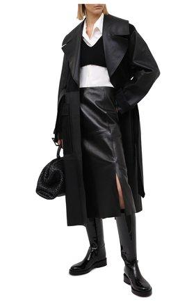 Женская кашемировый топ DOLCE & GABBANA черного цвета, арт. FX995T/JAW5J | Фото 2