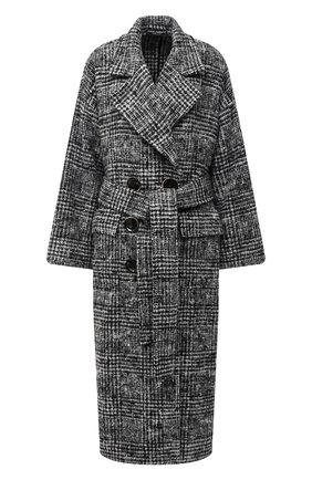 Женское шерстяное пальто DOLCE & GABBANA серого цвета, арт. F0AK3T/FQMGU | Фото 1