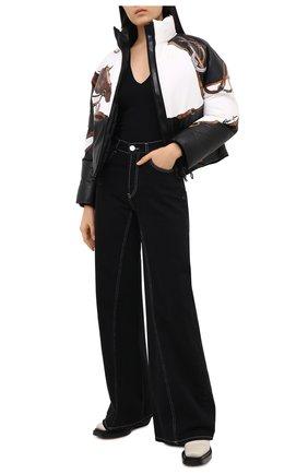 Женская кожаная куртка RALPH LAUREN черного цвета, арт. 290820944 | Фото 2