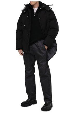 Мужские брюки BOTTEGA VENETA темно-серого цвета, арт. 626062/VKIL0 | Фото 2