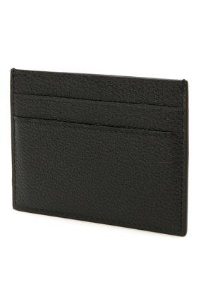 Мужской кожаный футляр для кредитных карт BALENCIAGA черного цвета, арт. 640109/15Y07 | Фото 2