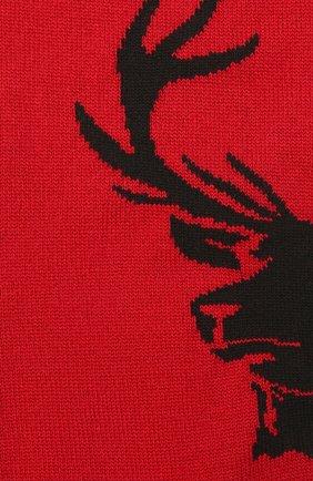 Мужские шерстяные носки DSQUARED2 красного цвета, арт. DFV142000 | Фото 2