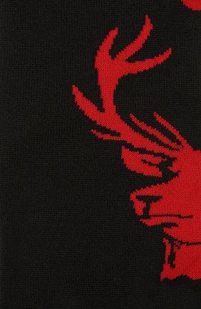 Мужские шерстяные носки DSQUARED2 черного цвета, арт. DFV142000 | Фото 2