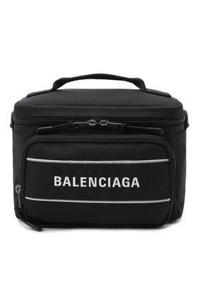 Мужская текстильная сумка sport camera BALENCIAGA черного цвета, арт. 638130/2HFNX | Фото 1