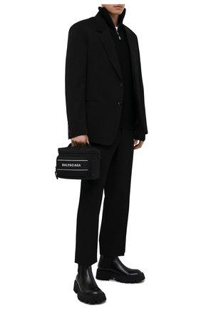 Мужская текстильная сумка sport camera BALENCIAGA черного цвета, арт. 638130/2HFNX | Фото 2