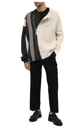 Мужские кожаные ботинки ATTIMONELLI'S черного цвета, арт. AA440 | Фото 2