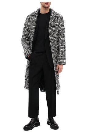 Мужские кожаные челси ATTIMONELLI'S черного цвета, арт. AA451V | Фото 2