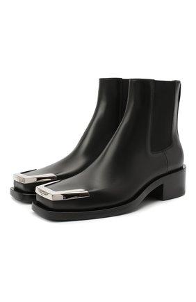 Мужские кожаные челси GIVENCHY черного цвета, арт. BH602EH0R0 | Фото 1