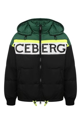 Мужская пуховая куртка ICEBERG разноцветного цвета, арт. 20I I1P0/J080/5050 | Фото 1