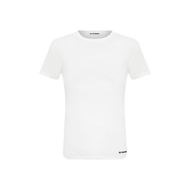 Хлопковая футболка Jil Sander