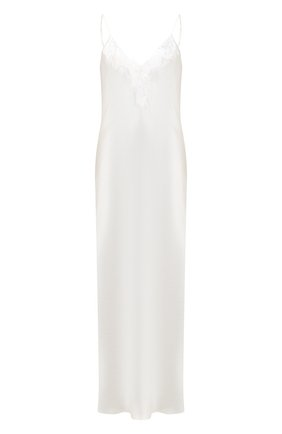 Женская шелковая сорочка LUNA DI SETA бежевого цвета, арт. VLST60515 | Фото 1