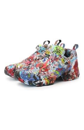 Женские текстильные кроссовки VETEMENTS разноцветного цвета, арт. UE51SN300M 1385/W | Фото 1