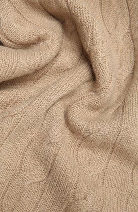 Мужские кашемировый шарф RALPH LAUREN бежевого цвета, арт. 434725437 | Фото 2