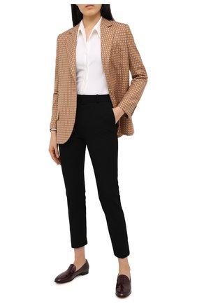 Женские кожаные лоферы marcel GIANVITO ROSSI бордового цвета, арт. G20722.51CU0.SMAR0YA | Фото 2