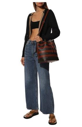 Женский кашемировый кардиган BURBERRY черного цвета, арт. 8038022 | Фото 2