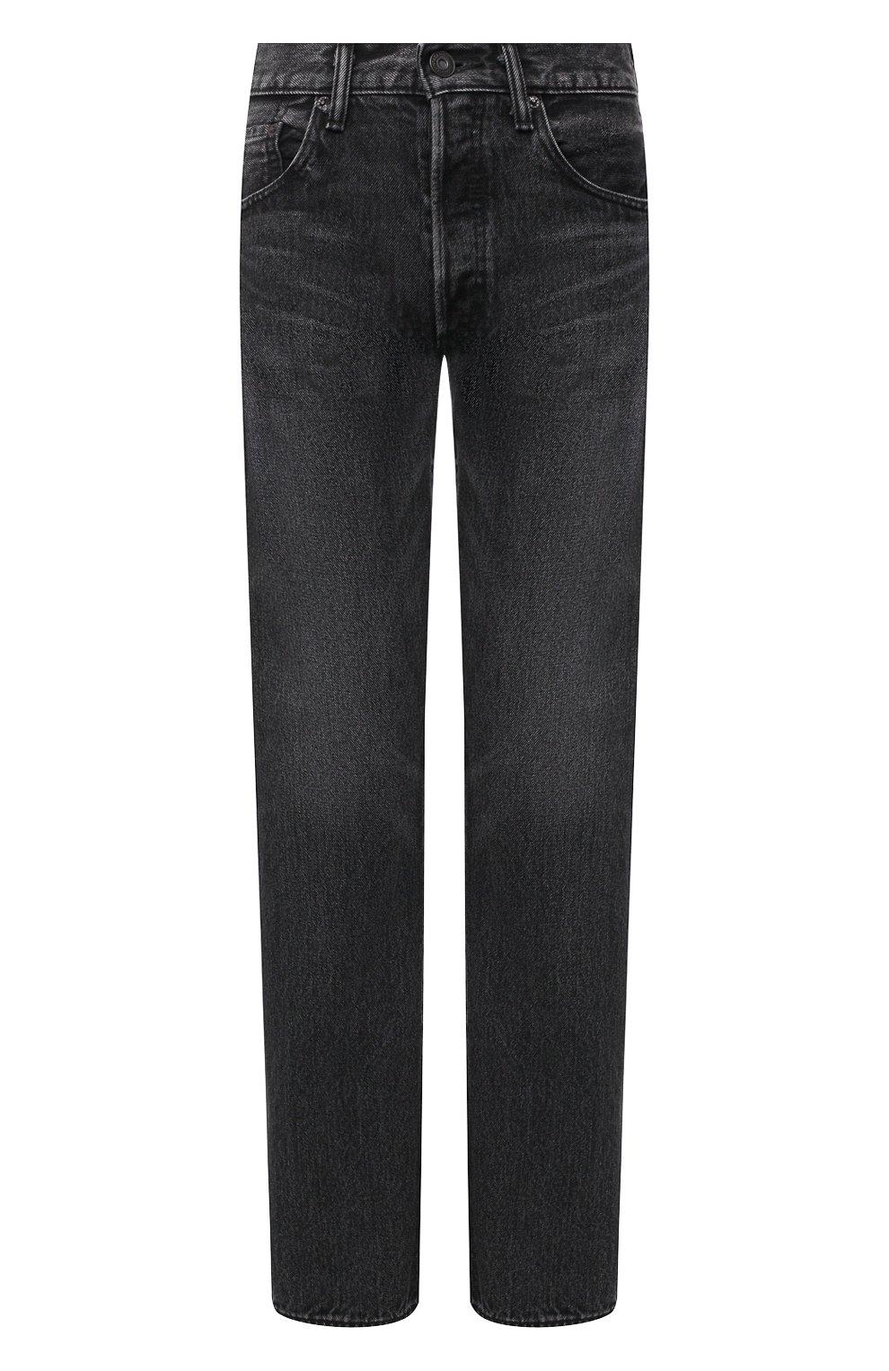 Женские джинсы MOUSSY темно-серого цвета, арт. 025DAC11-1090   Фото 1