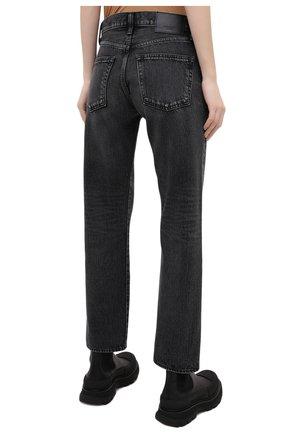Женские джинсы MOUSSY темно-серого цвета, арт. 025DAC11-1090   Фото 4