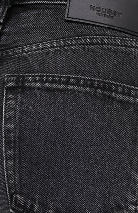 Женские джинсы MOUSSY темно-серого цвета, арт. 025DAC11-1090   Фото 5